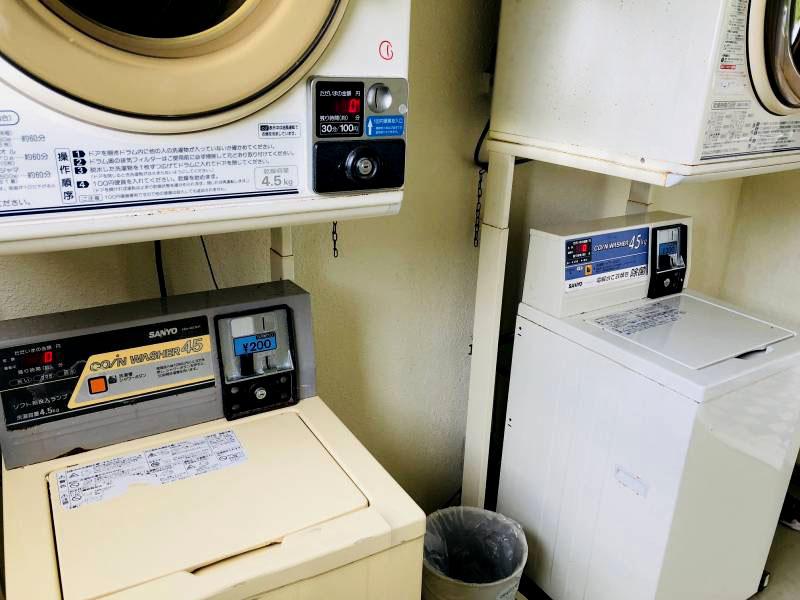 ちょこっと館内案内 洗濯機&乾燥機編