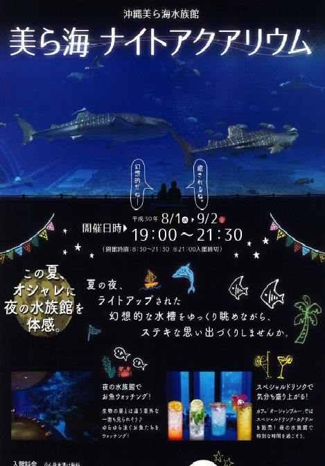 美ら海水族館 ナイトアクアリウム