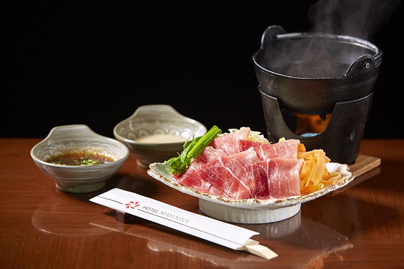 Chef recommendation shabu-shabu menu (affiliated hotel restaurant, main dining spring River)