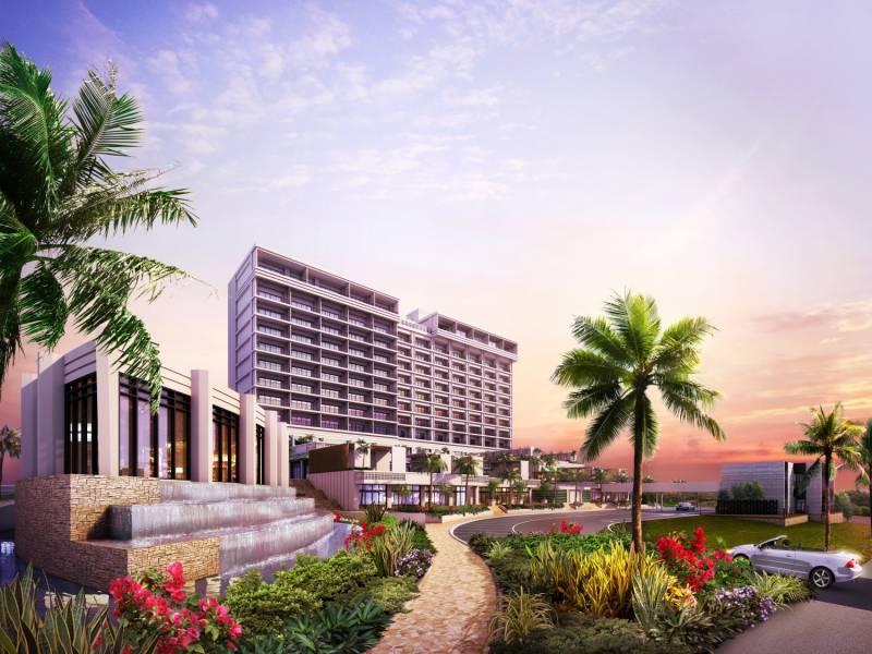마에다 산업 호테르즈 상업 에리어를 갖춘 제4 리조트 호텔 건설