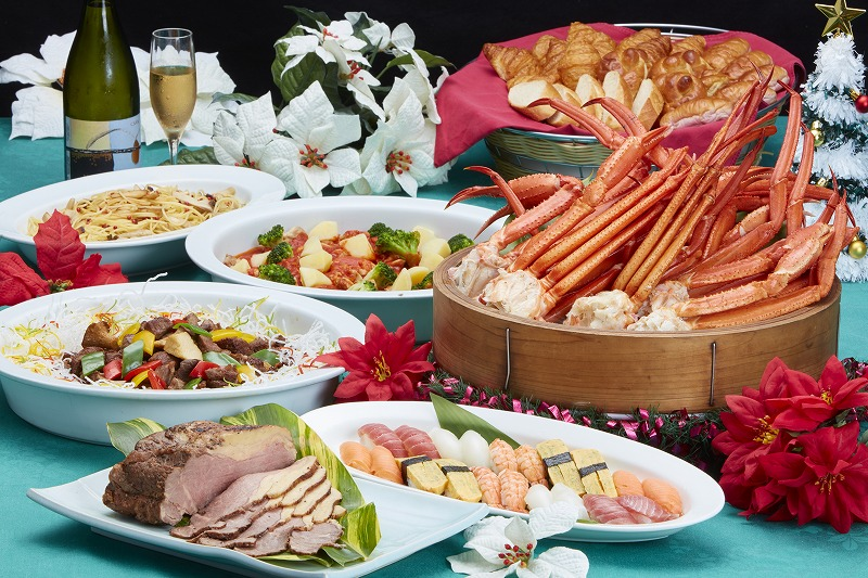 [to 12/22 - 12/25] Information for Christmas dinner buffet