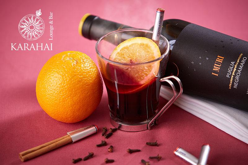 【メインダイニング泉河】和食に合うセレクトワインと特製ワインカクテル